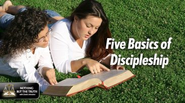 Five Basics Of Discipleship - Two Girls Reading the bible