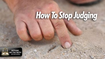 Fingers in Sand - How to Stop Judging