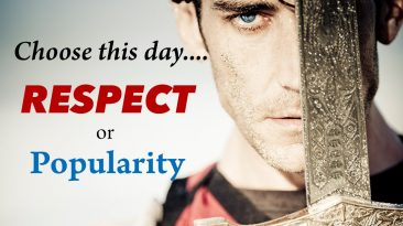 Is it Better to Have Respect than Popularity?
