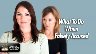 What to do when Falsely Accused - Women Judging Each Other