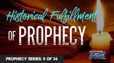 Historical Fulfillment of Prophecy - Burning Candle